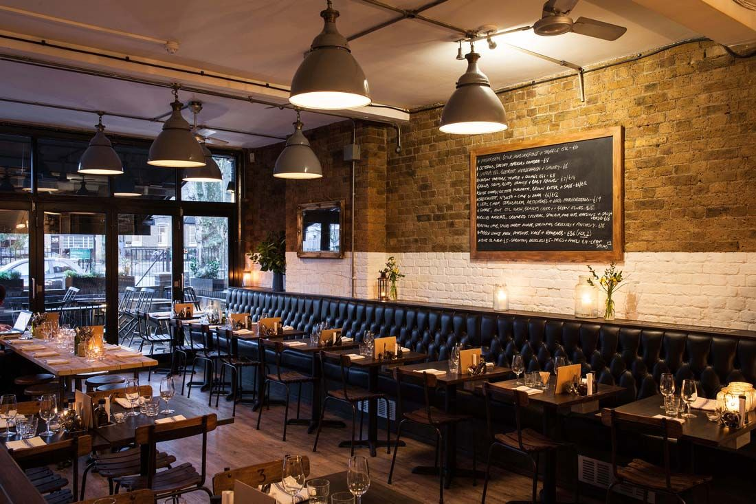 8 Hoxton Square Restaurant With a menu that changes