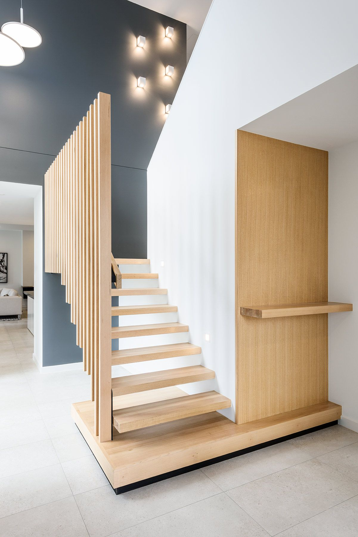 Stair | Treads | Victorian Ash | Balustrade | Feature | Contemporary |  Interior Design |