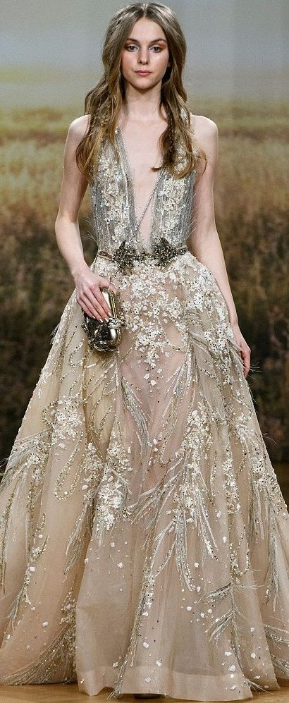 Ziad Nakad HC S/S \'18. | Fashion Inspiration | Pinterest | Gowns ...