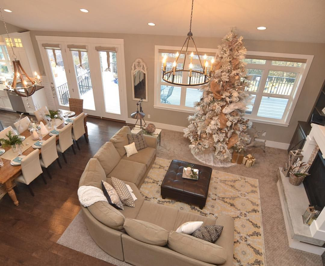 Living room decoration to make your christmas perfect for the home