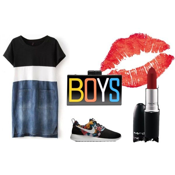Boys Style by nadine-118940 on Polyvore featuring mode, NIKE and MAC Cosmetics