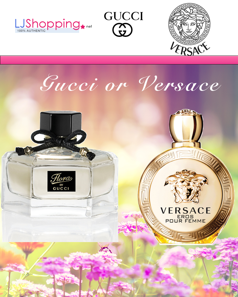 Gucci Or Versace Perfume Which One You Like Womens Perfume