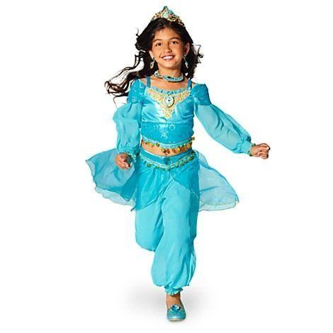 Disfraz Niña Jasmine Disney Store Traje Jazmin Aladin