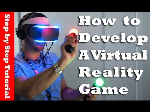 How to develop a virtual reality game using unity in 35
