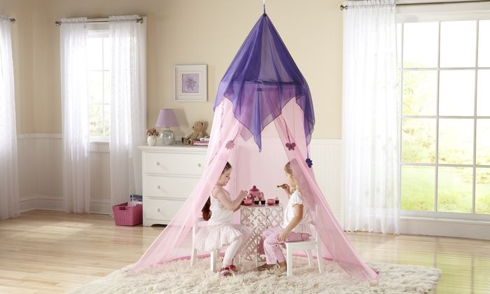 Discovery Kids Princess Canopy Princess Canopy Bed