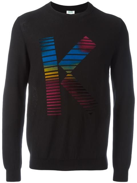 6f430f238976 KENZO K Print Sweatshirt.  kenzo  cloth  sweatshirt