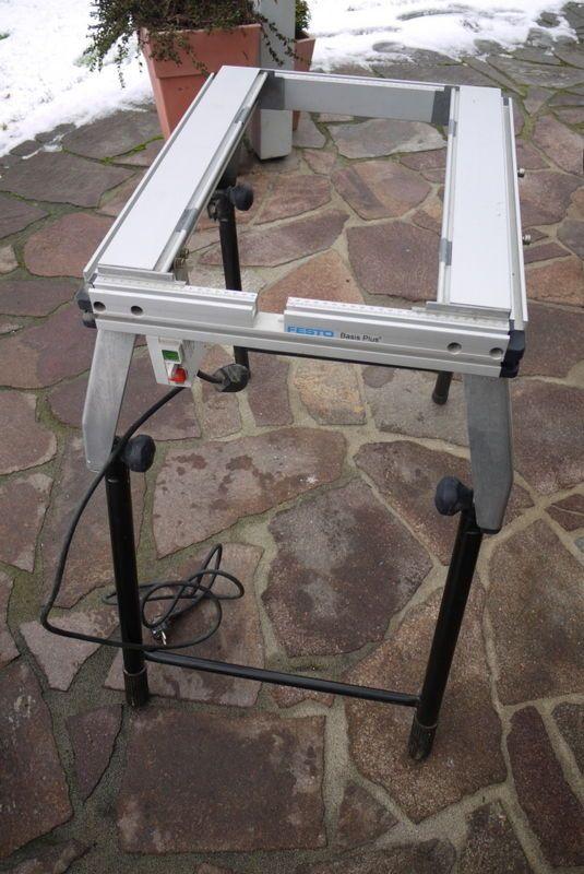 Wonderbaar Festo Festool Basis Plus Grundeinheit Tisch GE/KB in Heimwerker VD-68