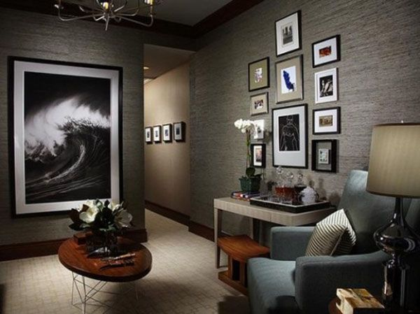 60 Masculine Living Room Design Ideas with Different Styles | Living ...