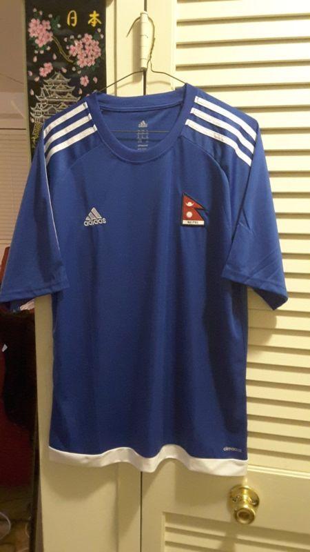 01edf1548 2017 Adidas Nepal National Football Team Away Jersey Bnwtib Large ...