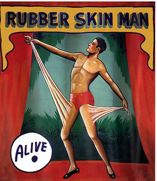 Resultado de imagen de rubber man poster
