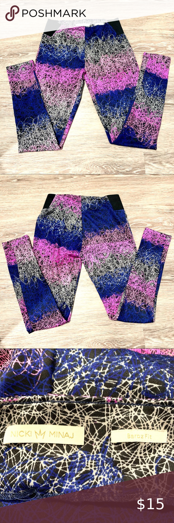 Nicki Minaj Pants Size M Clothes Design Pants For Women Colorful Leggings