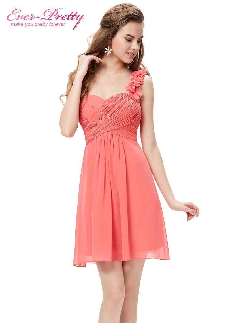 Bridesmaid dresses ever pretty ep sexy chiffon dress flower