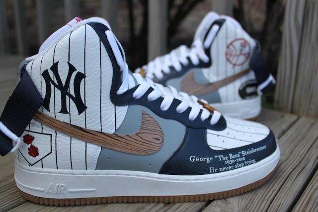 2b506e489532f New York Yankees. New York Yankees Nike Shoes ...