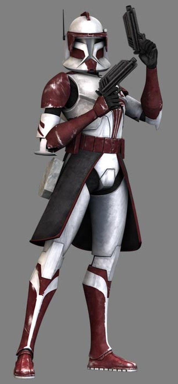 Cc 1010 Fox Is A Clone Trooper Commander Of The Famed