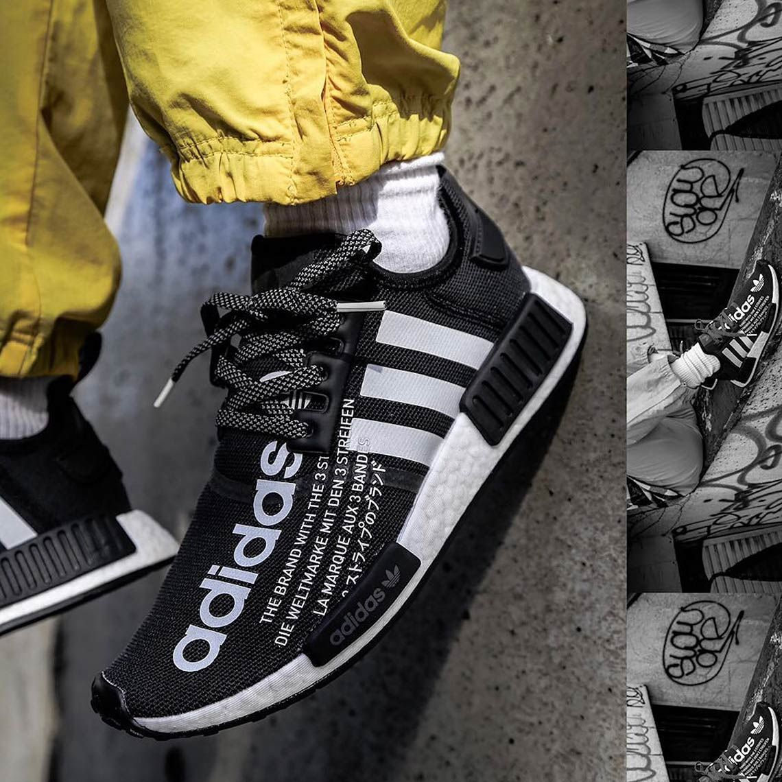 atmos adidas NMD R1 G27331 Release Date | for winter
