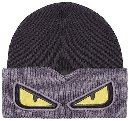36746e98179 Fendi Monster Eyes knitted beanie