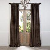 Found it at Wayfair - Cotton Velvet Curtain Panel