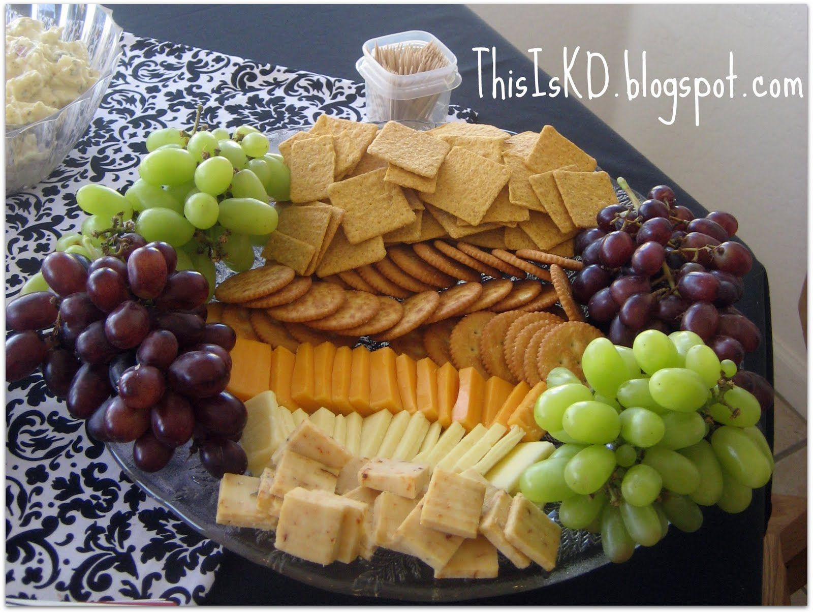 This Is Katie | cracker tray in 2019 | Costco party food, Cheese