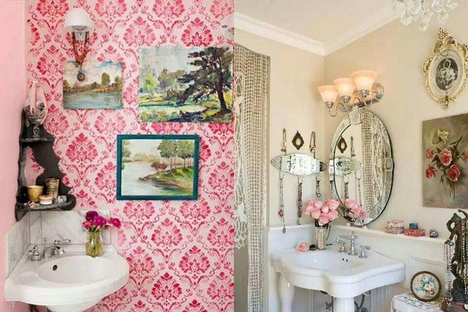 Pretty bath room | HOME: Sweet Gypsy Home | Pinterest | Bath room ...
