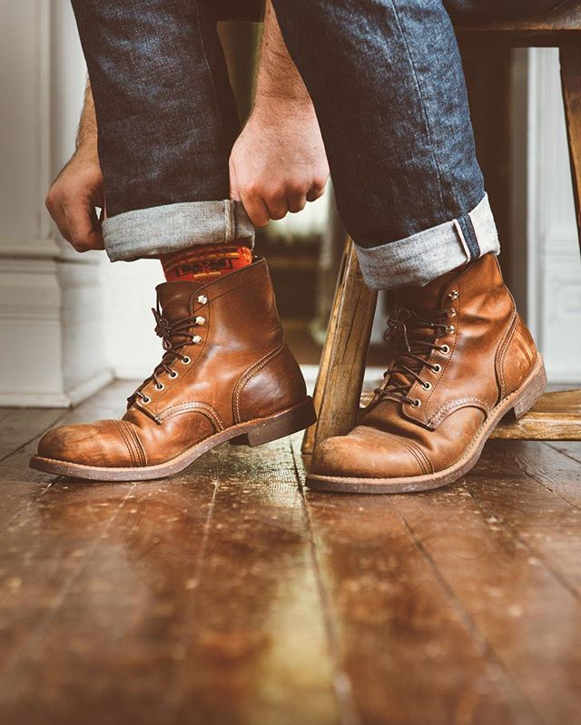 82ea174245e redwingheritage Iron Ranger 8111 Amber Harness Leather one of my ...