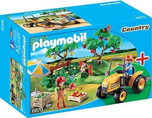 Playmobil 6870 Starterset Obsternte Spielwerkzeug Playmobil Figuras