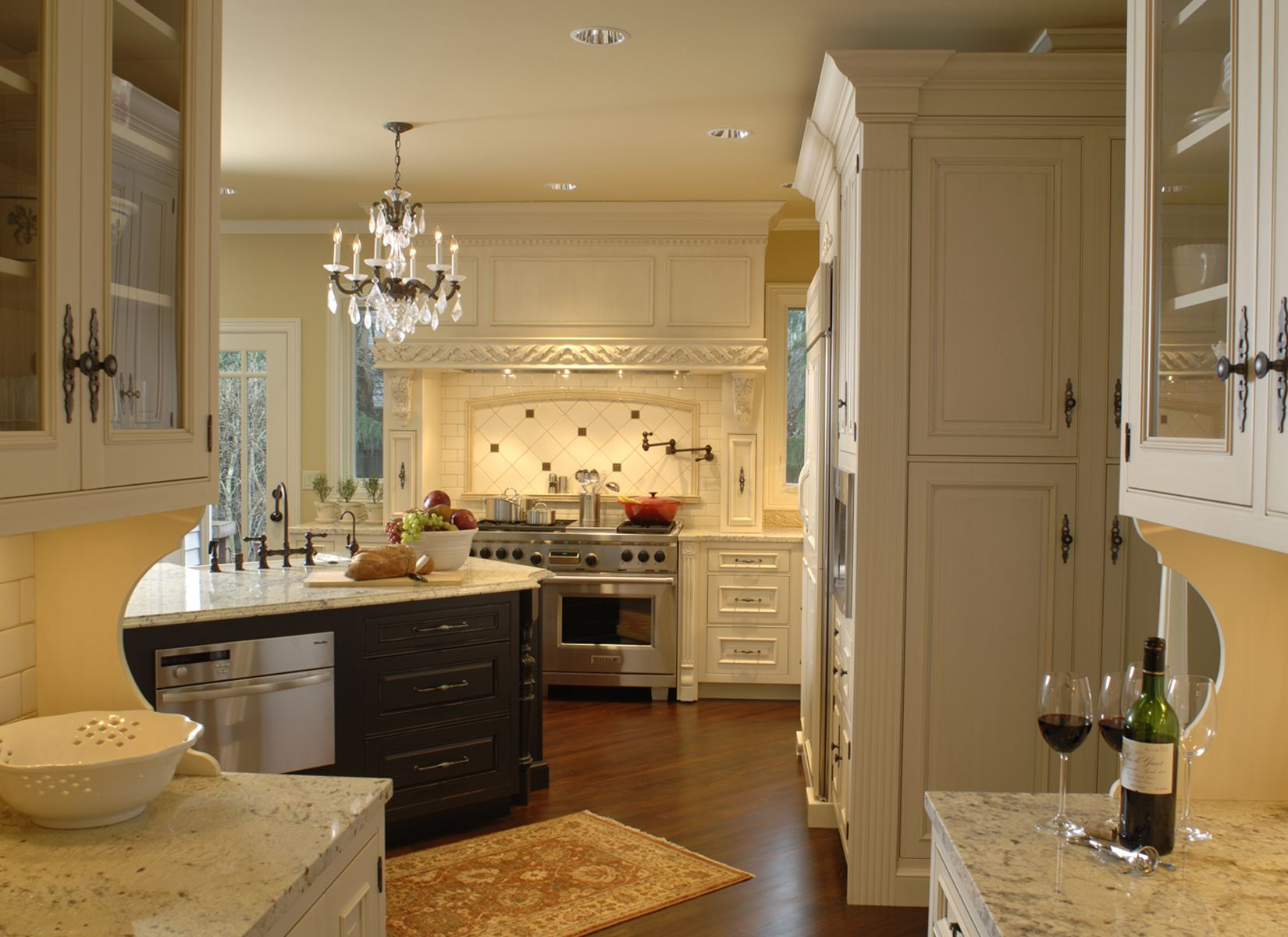 Classic French Kitchen Remodel Portland Oregon  French Kitchens Stunning Luxury Kitchen Designers Design Inspiration
