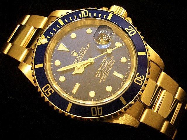 Rolex Watch Mens Gold