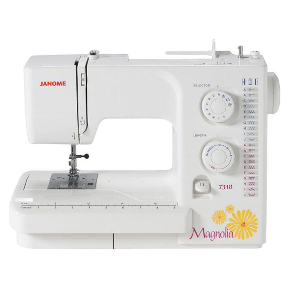 Amazon.com: Janome Magnolia 7318 Sewing Machine | Sew What ...