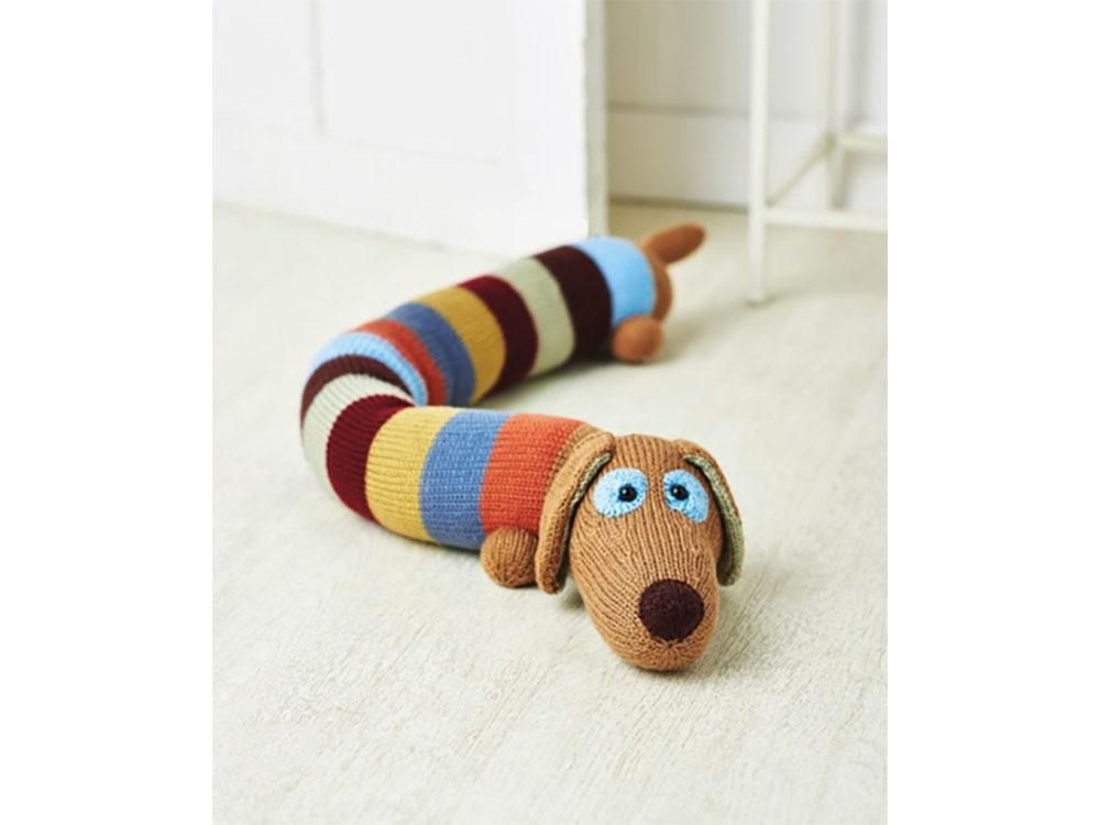Sausage Dog Draught Excluder by Amanda Berry in Deramores ...