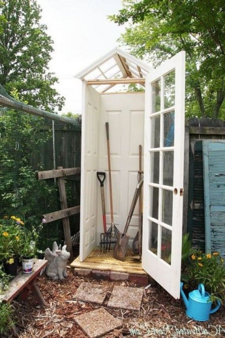 20 Inspiring Garden Tool Storage Ideas Beautiful Gardens