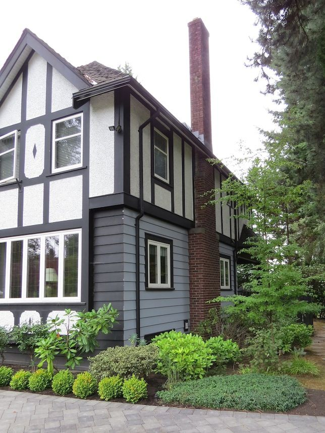 Tudor rules how to paint your tudor revival home - Tudor revival exterior paint colors ...