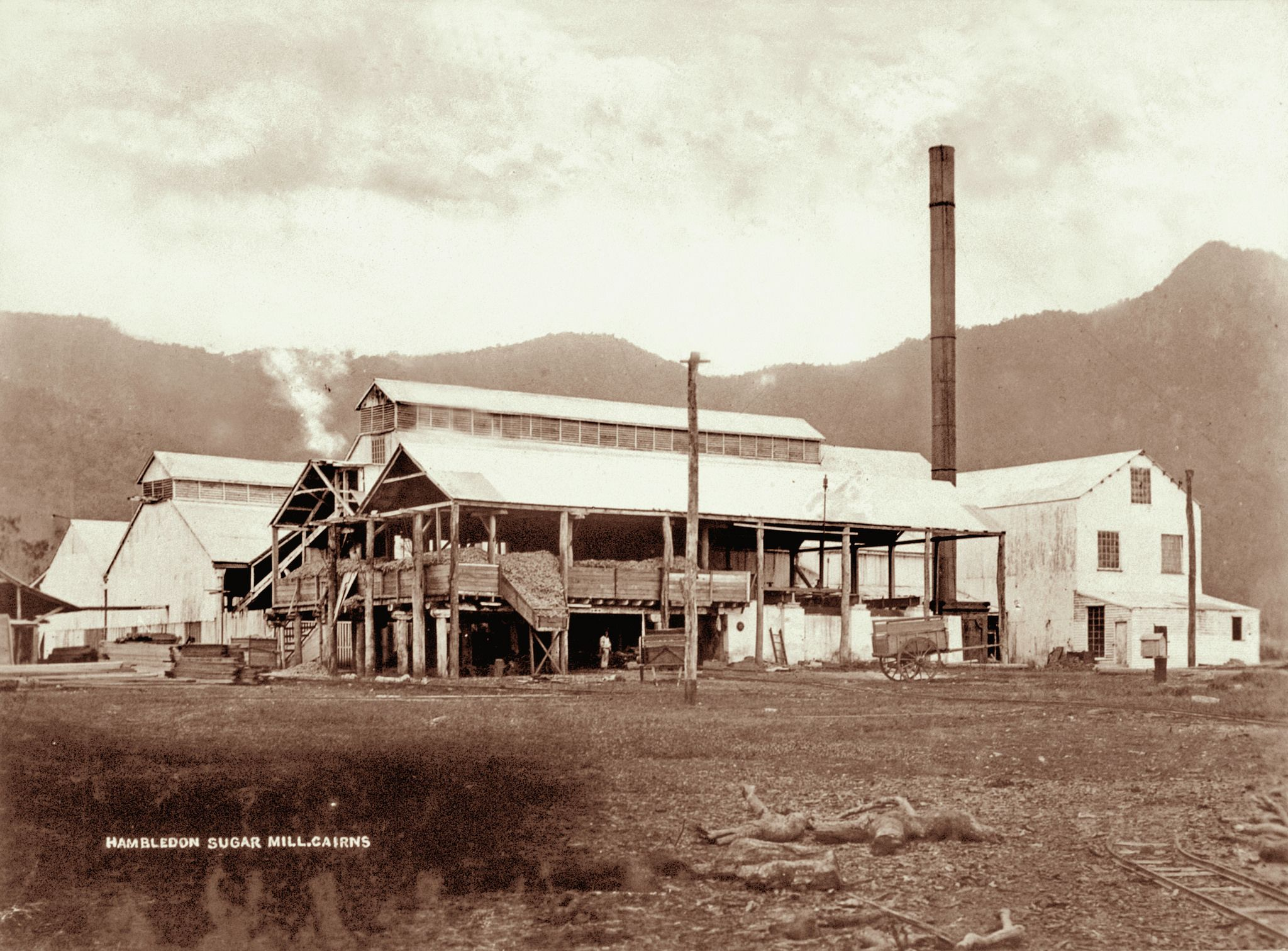 Hambledon Sugar Mill Cairns 1897 Cairns Show Place Queensland