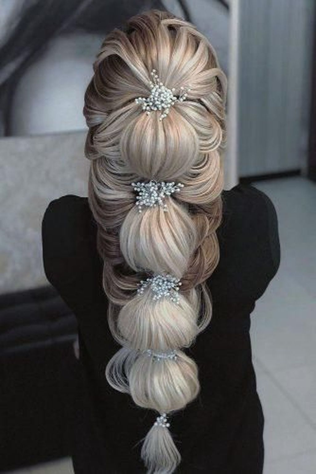 elegant bridal hairstyles ideas for long hair long