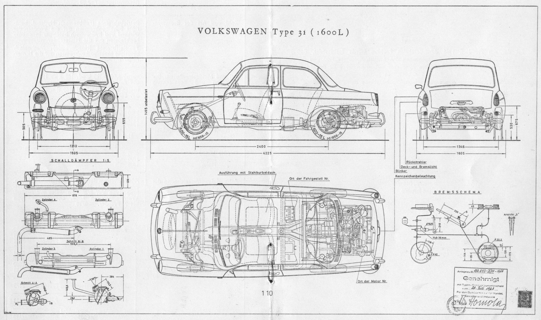 Volkswagen typ 31 1600l 1961 73 smcars car blueprints volkswagen typ 31 1600l 1961 73 smcars car blueprints malvernweather Images