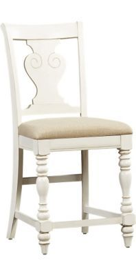 Dining Rooms, Welcome Home Counter-Height Chair - Weathered White, Dining Rooms | Havertys Furniture