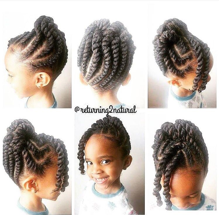 Twist Hairstyles For Kids Simple Ki  Kid Styles  Pinterest  Hair Style Kid Hairstyles And Natural