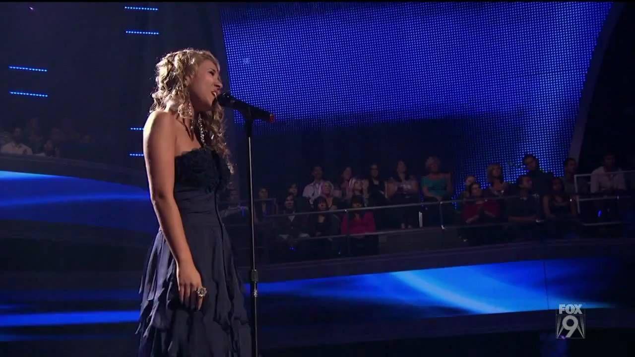 True Hd Haley Reinhart Blue Top 13 American Idol 2011 Mar 9 American Idol Country Songs Haley Reinhart