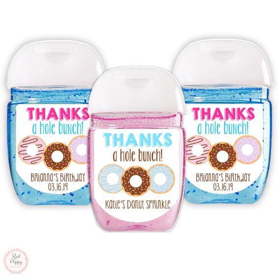 Customized 33 Oz Hand Sanitizer Spray Personalized Baby Shower