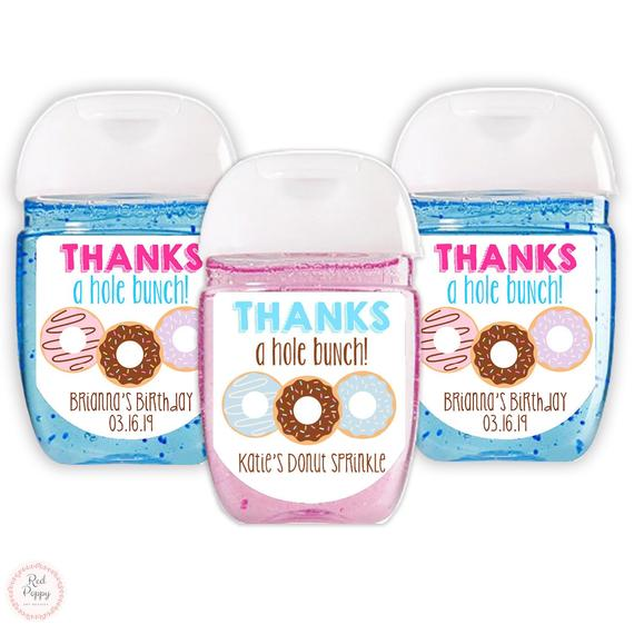 These Donut Hand Sanitizer Labels Are A Perfect Addition To Your