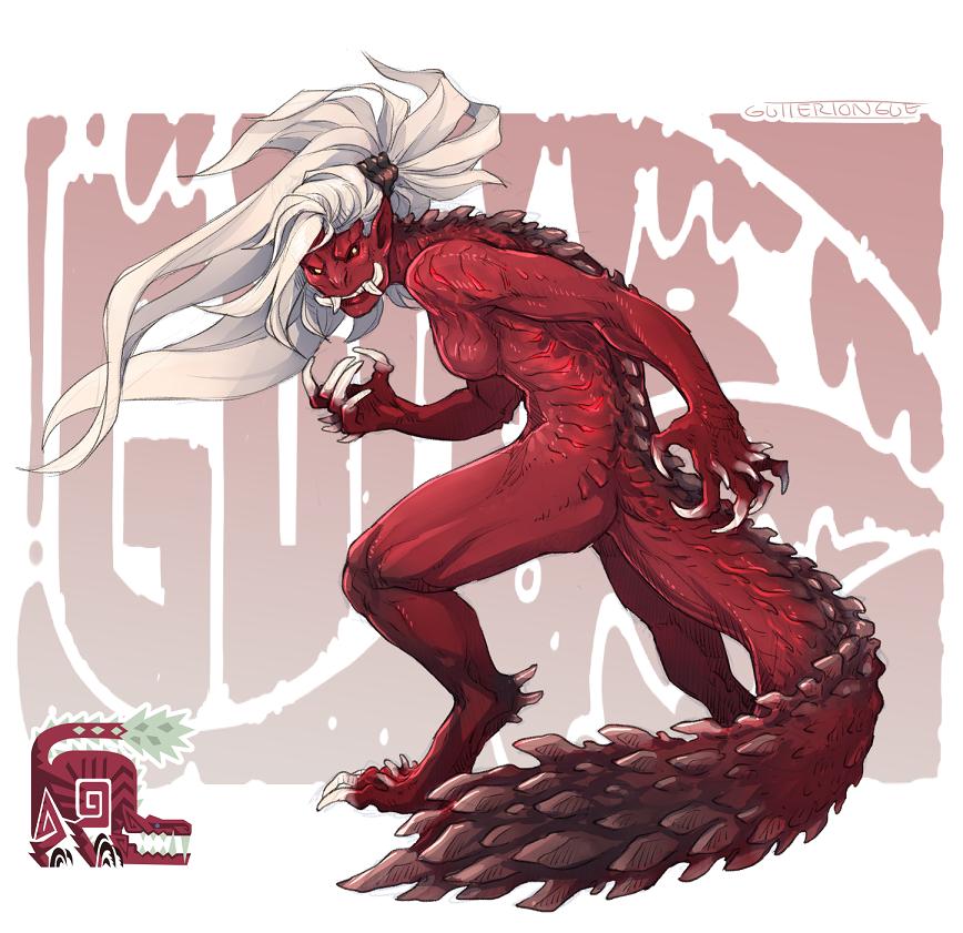 Time For My Favorite Meat Puppy Odogaron Monster Hunter Art Monster Hunter Creature Art