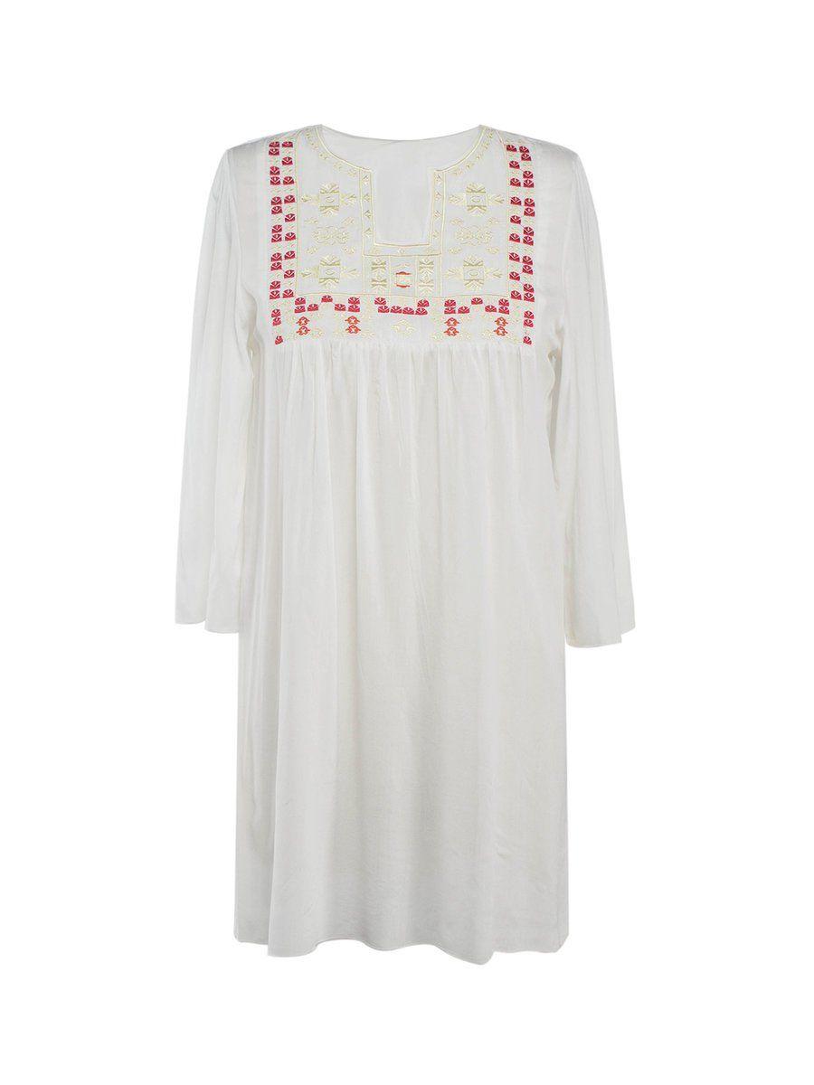 Adorewe justfashionnow casual dresses designer fugu white casual