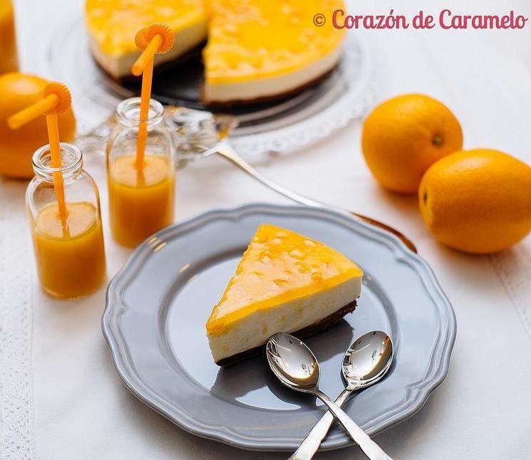 Tarta de naranja sin horno for Facilisimo cocina postres