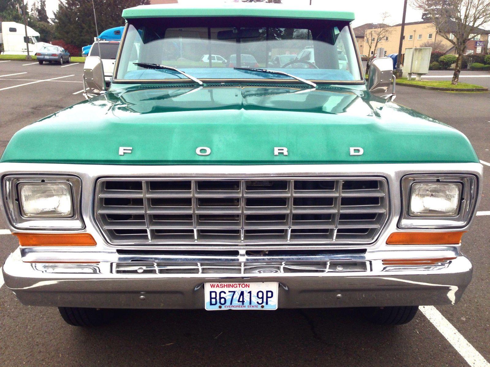 1978 ford f 350 xlt ranger camper special 2wd automatic transmission 460cu v8 [ 1600 x 1200 Pixel ]