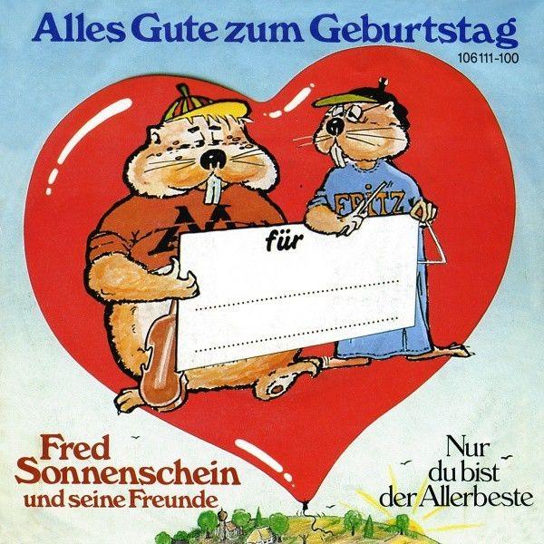 1974 Alles Gute Zum Geburtstag Fred Sonnenschein Alias