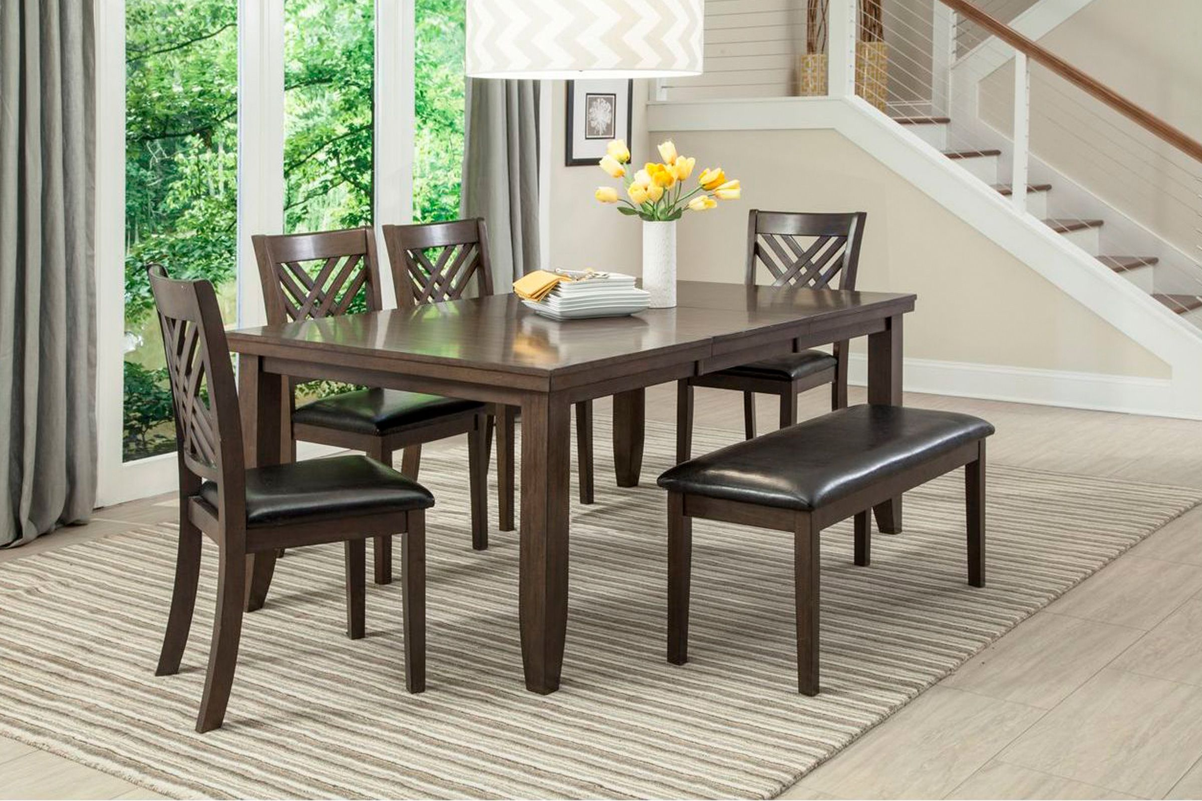 Lebaron Bench In 2020 Classic Dining Room Dinette Sets Side Chairs