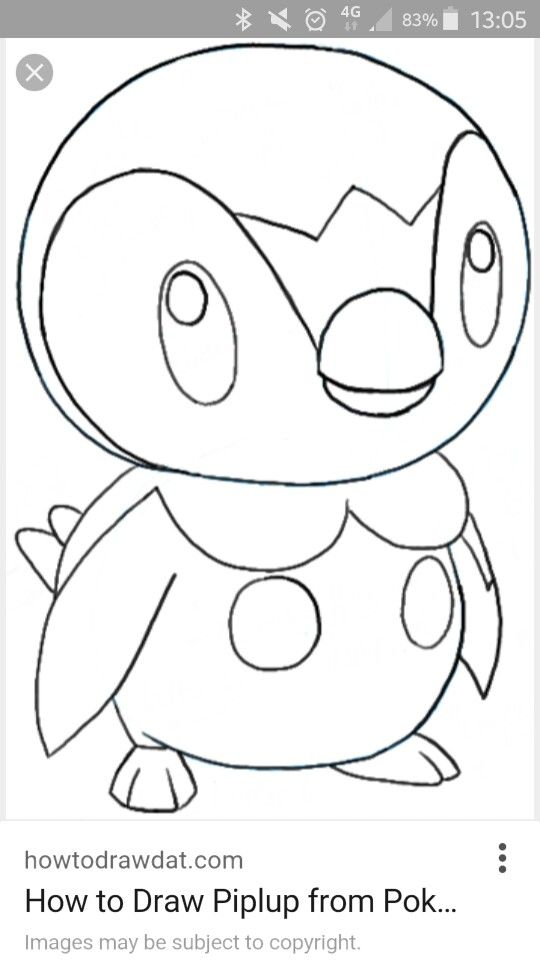 Pin by Linda Reed on sketches | Drawings, Easy drawings, Pokémon