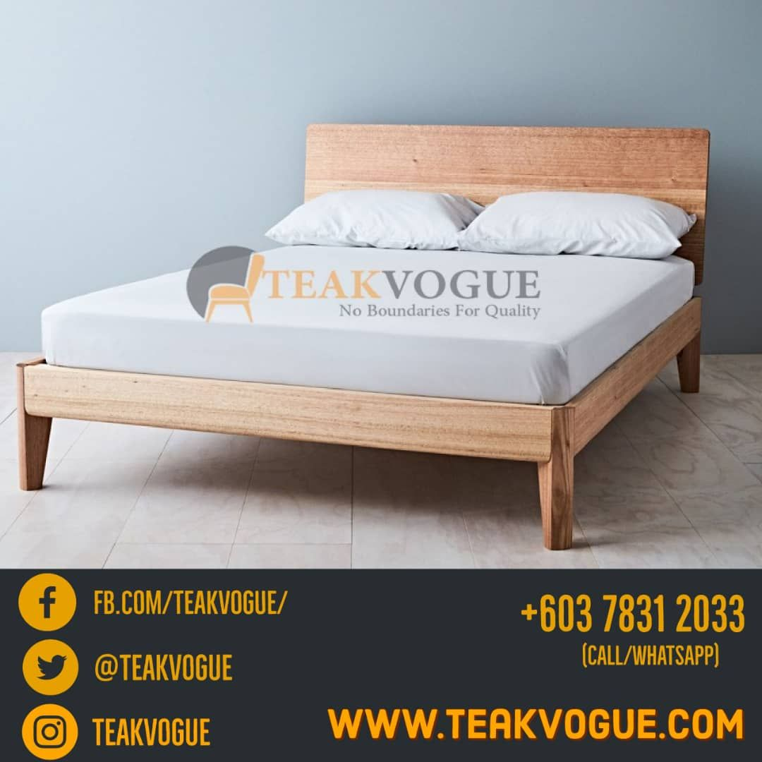 Triglav Queen Size Bed Teak Wood Bed Frames Malaysia Queen