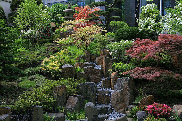 Japanese Urban Courtyard Garden Wonder If It S The New Otani In
