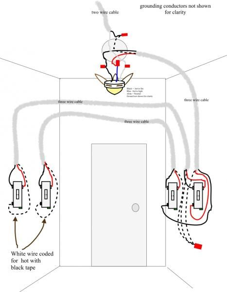 Best Of Ceiling Fan Light 3 Way Switch Wiring And View in