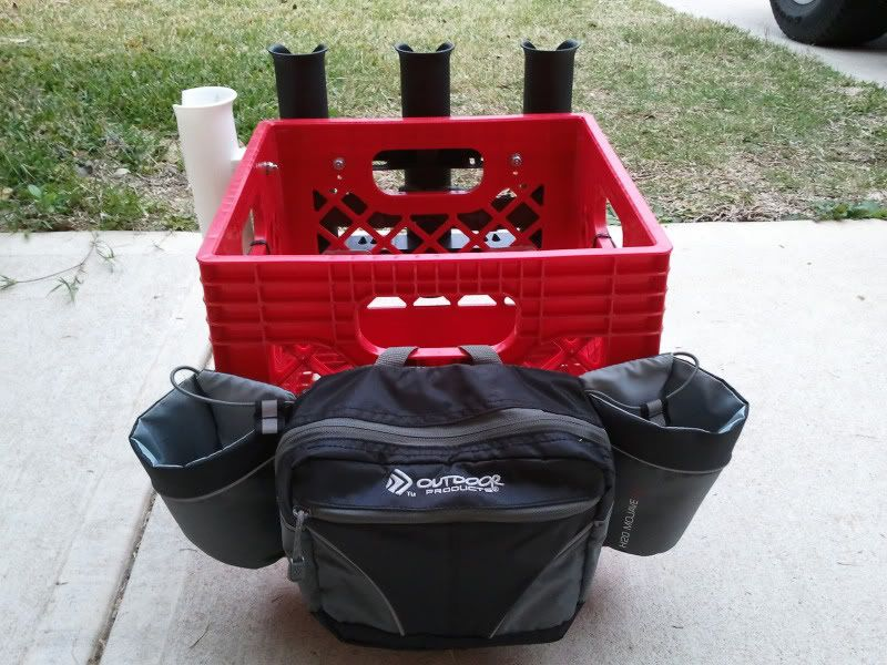 how to make a kayak fishing crate